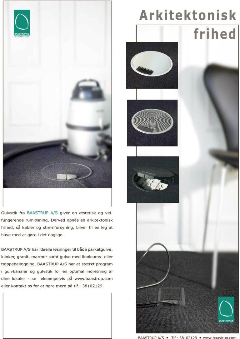 Informationsfolder: Gulvstik i plast