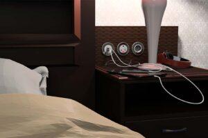 PIP OE Electrics oplader på hotel2