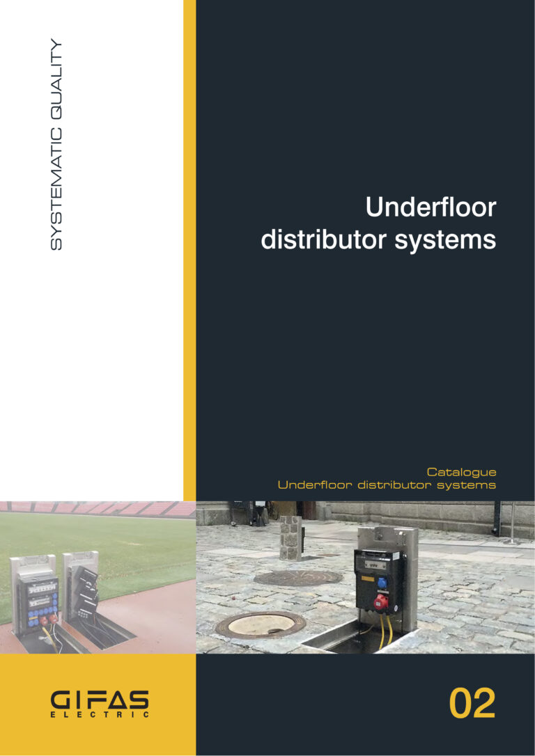 02 Underfloor distribution systems - Main Catalogue