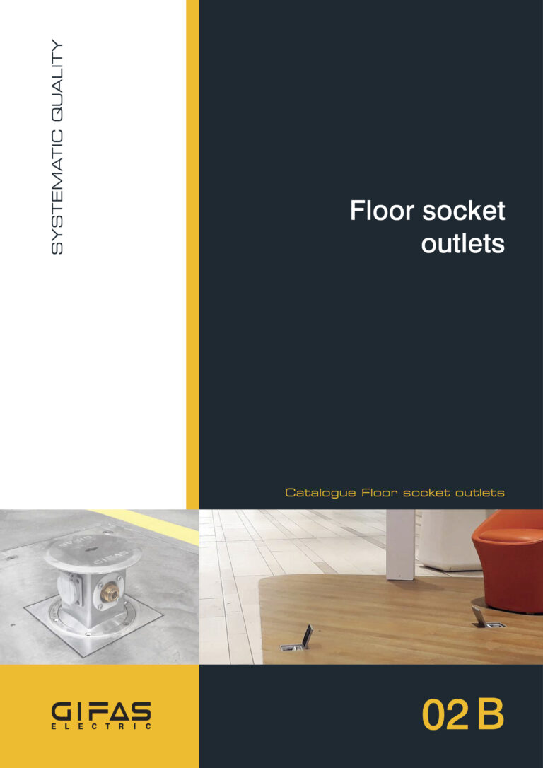 02B Floor socket outlets